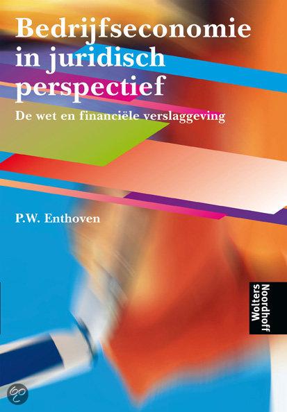 Bedrijfseconomie in juridisch perspectief