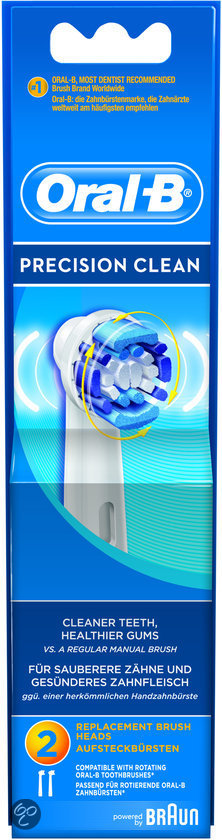 Oral-B Opzetborstel Precision Clean - 2 stuks