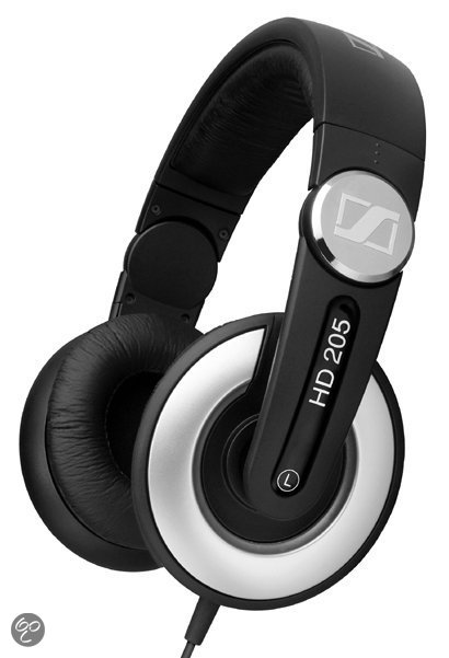 Sennheiser HD205 II - On-ear koptelefoon - Zwart
