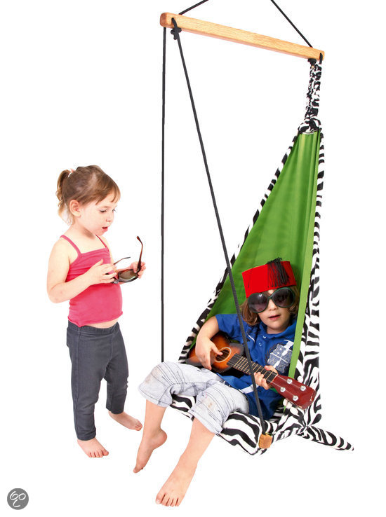 Amazonas hangstoel hang mini zebra tuin - Hang een doek ...