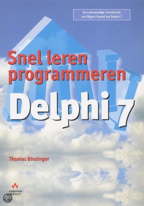 Snel Leren Programmeren, Delphi 7