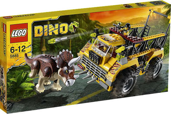 LEGO Dino Triceratops Truck - 5885