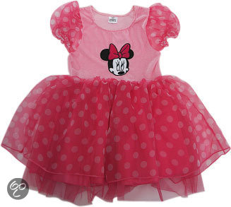 Minnie Mouse jurk - Kostuum - Maat 116-122