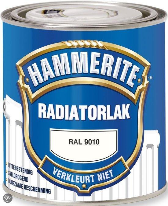 bol.com | Hammerite Radiatorlak Kleurvast Ral9010 0,75 Ltr | Klussen