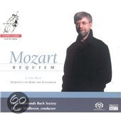 Mozart: Requiem - Netherlands Bach Society/van Veldhoven (Hybride/Stereo/5.1)