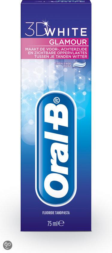 Oral-B White Glamour 3D - 75 ml - Tandpasta