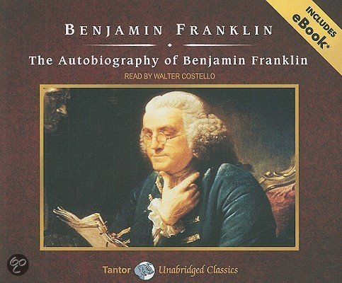 benjamin franklin autobiography The autobiography of benjamin franklin introduction benjamin franklin was only 22 years old when he wrote himself an epitaph ( source ) aside from the fact that this was kind of a pessimistic, suffering artist thing to do, what's really interesting is his description of what he imagined his legacy would be.