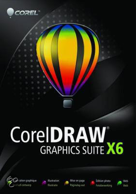 Coreldraw Graphics Suite X6 - Engels / Upgrade