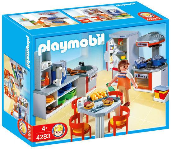 playmobil grote keuken 4283 playmobil