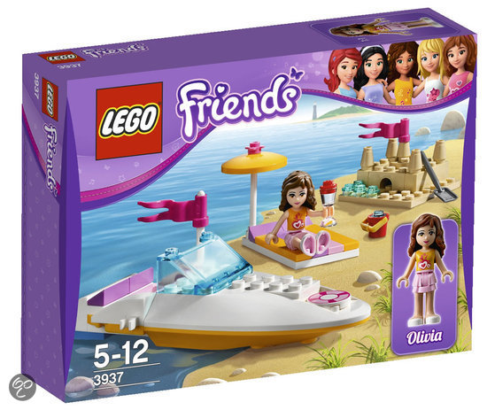 LEGO Friends Olivia's Speedboot - 3937