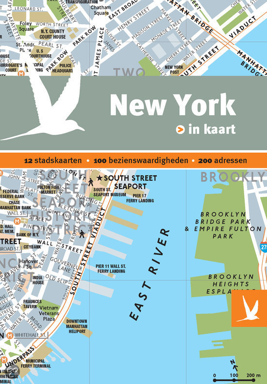New York in kaart