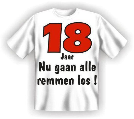 Benza t Shirt 18 Jaar nu