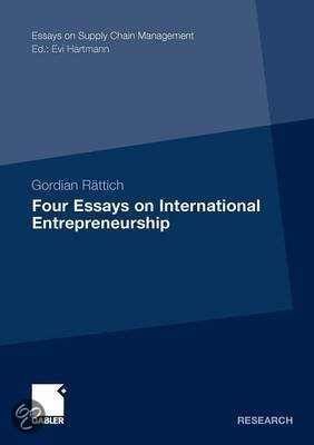 Essays on the Internationalisation of Entrepreneurial Firms