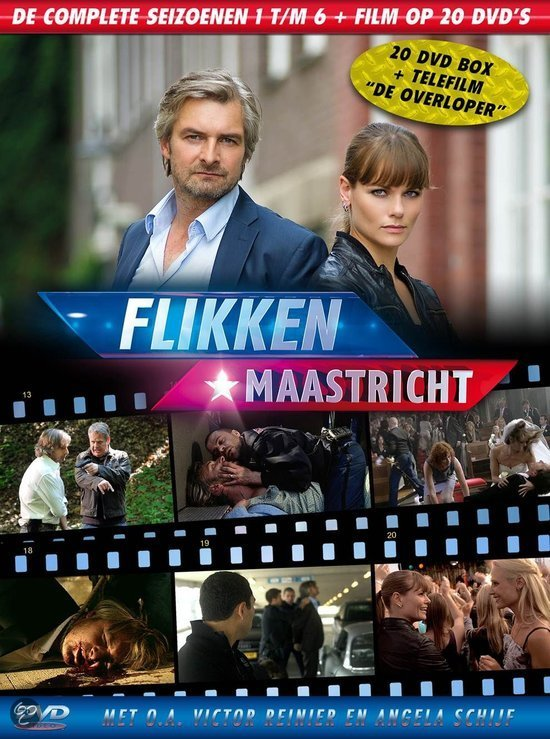 Flikken Maastricht - Seizoen 1 t/m 6