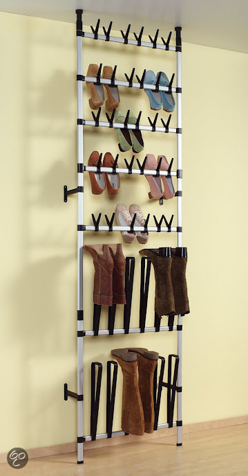Ruco opbergsysteem met schoenen en laarzenrek for Boeken opbergsysteem