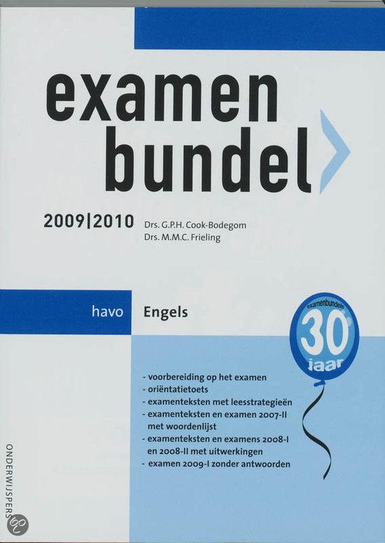 Examenbundel Engels Havo 2009/2010