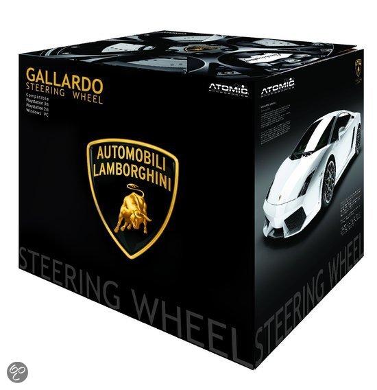bol.com | Gallardo Lamborghini Steering Wheel - pc / ps3 ...