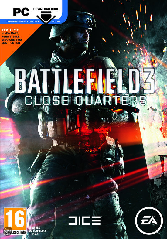 Battlefield 3: Close Quarters - Code In A Box