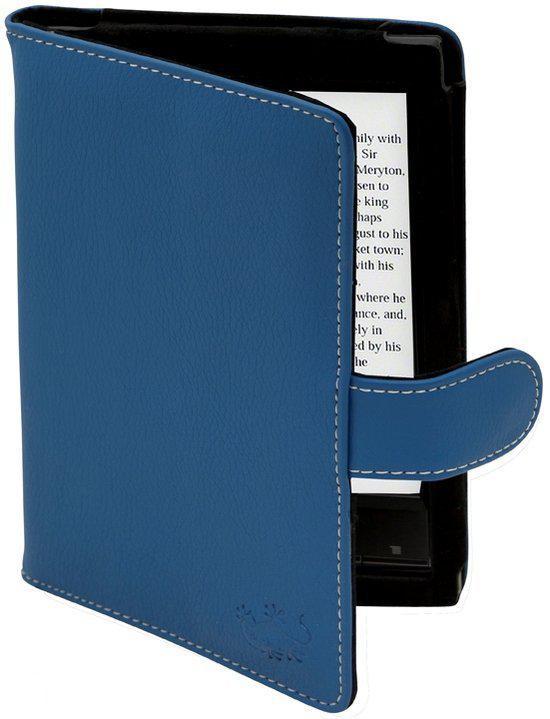 Gecko Covers Luxe Beschermhoes voor Sony Reader (PRS-T1) - Blauw