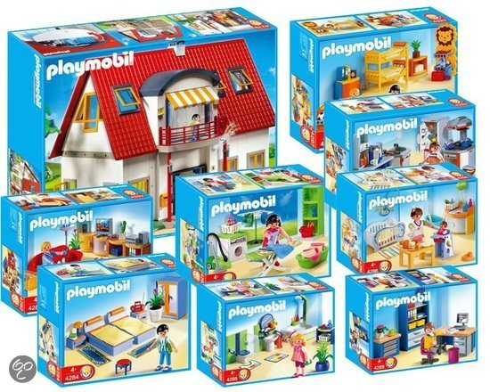 1674 playmobil bundel modern woonhuis alle for 4279 playmobil