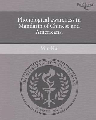 Phonological awareness dissertation