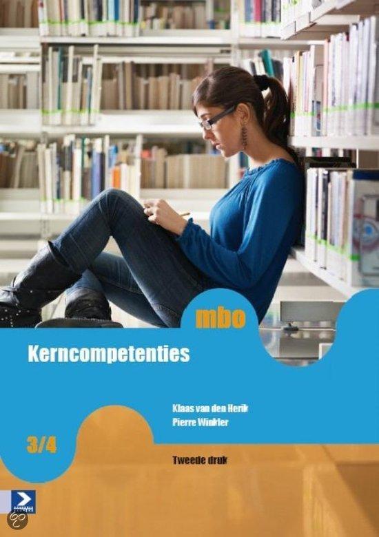 Kerncompetenties / MBO niveau 3/4