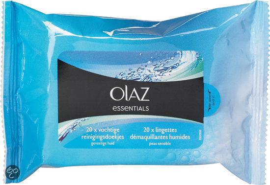 Olaz Essentials - Gevoelige Huid - Reinigingsdoekjes
