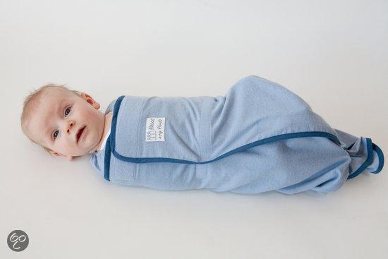 Pacco Piccolo - Inbakerdoek 4 tot 7 kg - blauw