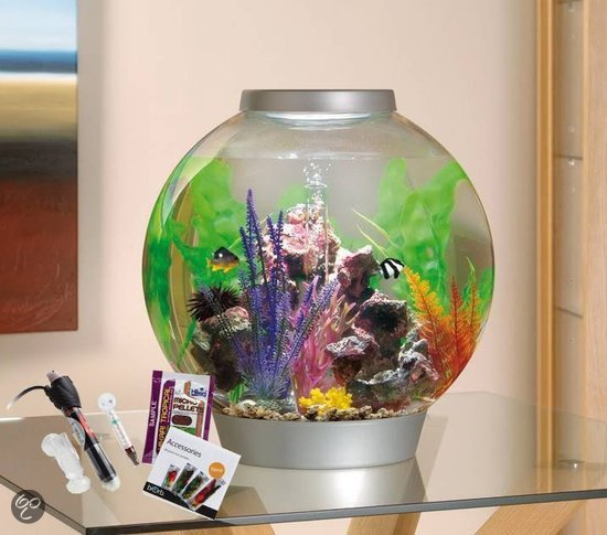 biorb tropical thermo aquarium 60 liter zilver. Black Bedroom Furniture Sets. Home Design Ideas
