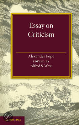Pope essay on criticism online