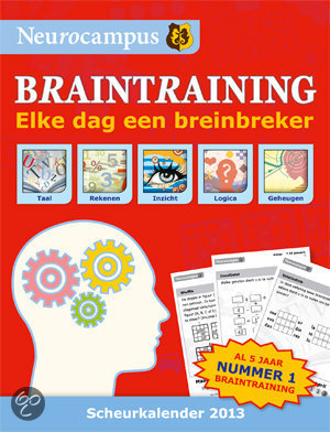 Neurocampus braintraining scheurkalender 2013