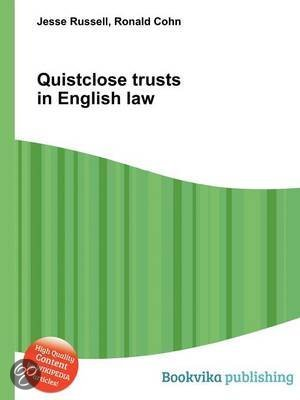 Quistclose trusts – what they are and how to use them