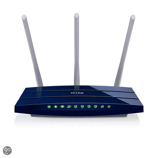 TP-LINK TL-WR1043ND-Wireless N Gigabit Router - 300Mbps