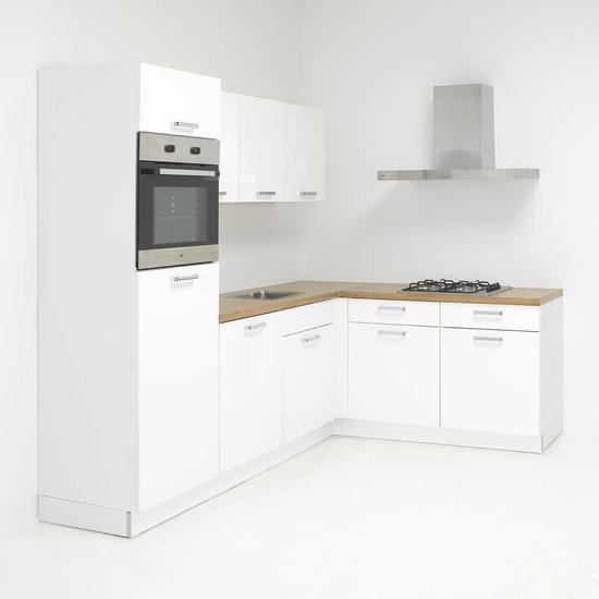 De zuiderster keukens keukenmeubel nolte lux 01 keuken incl etna apparatuur wit hoog - Afbeelding van moderne keuken ...