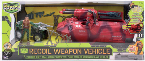 The Corps Recoil Weapon Vehicle