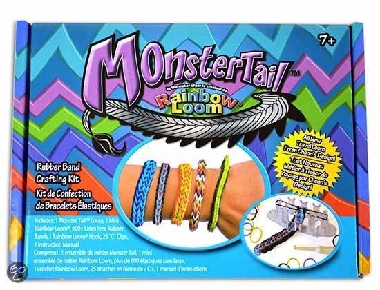 De offici�le MonsterTail van de makers van Rainbow Loom in Serville