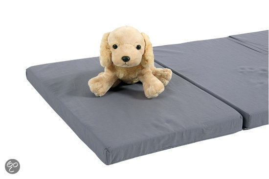 Top Mark - T7020 Matras in tas voor campingbed - Grijs
