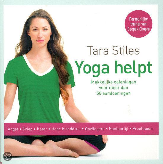 Yoga helpt