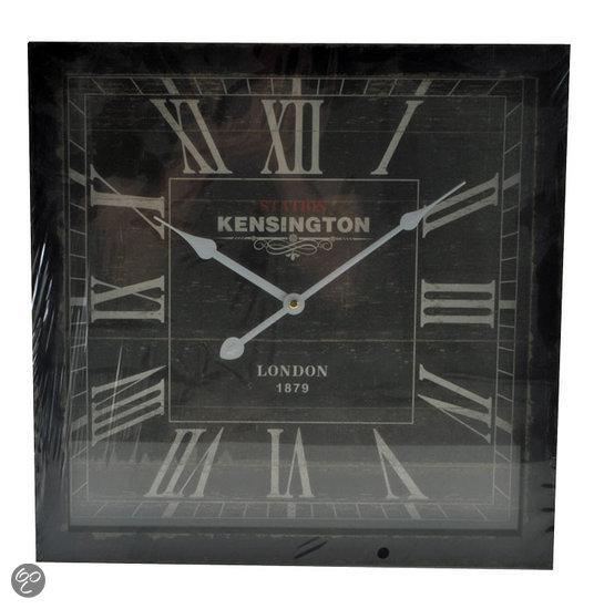 Dsm Keukens Materiaal : bol com dsm Kensington Klok Vierkant Hout 40×40