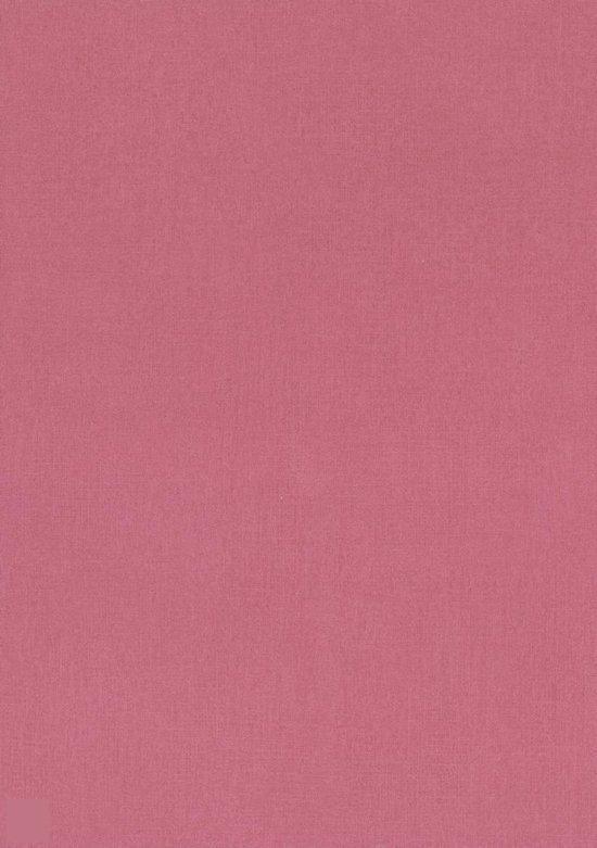 Dutch wallcoverings vliesbehang uni roze rood - Hoe roze verf ...