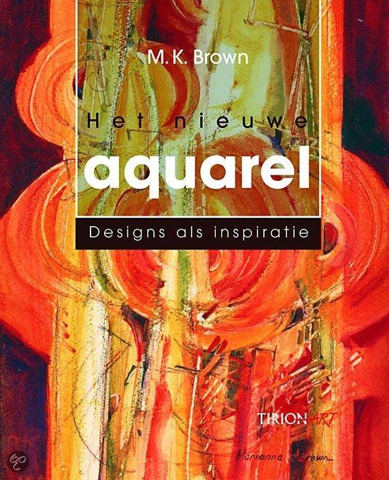 Cover van het boek 'Het nieuwe aquarel'