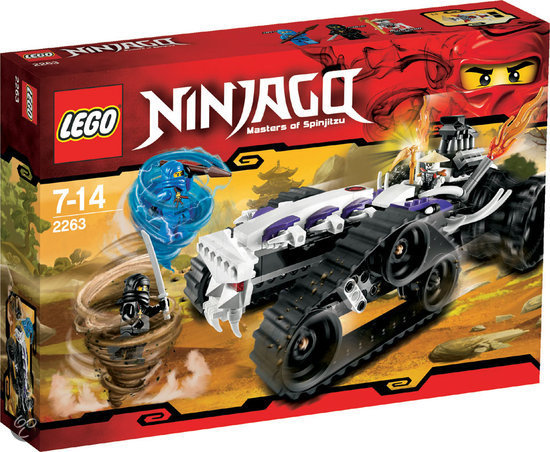 LEGO Ninjago Spinner Turbo Shredder - 2263 in Donkersvoort