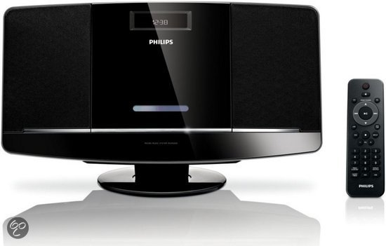 Philips MCM2050 - Microset - Zwart