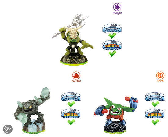 Skylanders Spyro's Adventure Triple Pack Voodood, Boomer, Prism Break Wii + PS3 + Xbox360 + 3DS + Wii U + PS4