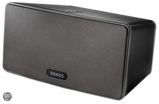 Sonos Play 3 - Draadloze hifi-speaker met streaming - Zwart