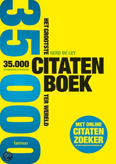 Het grootste citatenboek ter wereld