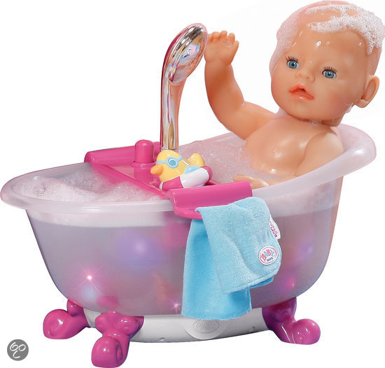 Baby born interactief bad poppenbad zapf creation speelgoed - Baby douche ...