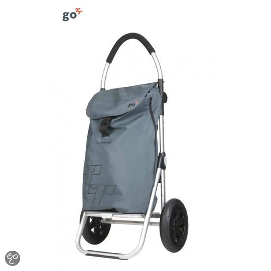 Playmarket Go TT outdoortrolley donker grijs