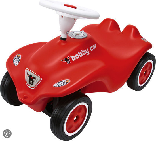 BIG Bobby Car loopauto 'Next Generation' rood