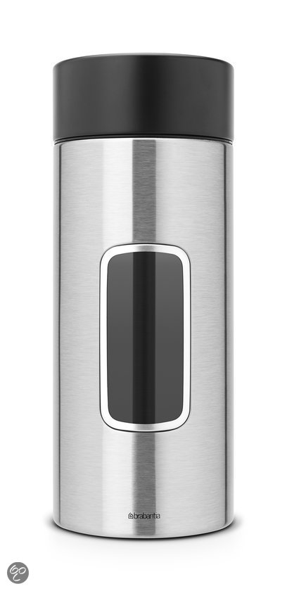 Brabantia Vensterbus 2,2 l - Matt Steel Fingerprint Proof